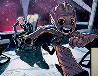 Colors for Marvel: I am Groot