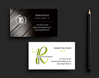 Logo and double sided business card