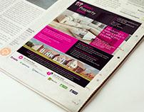 3Keys Property Newspaper Advert Design