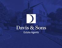 Davis & Sons Branding