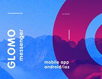 Glomo messenger / mobile app