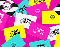 Robin Roll Logotype Development