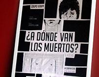 Afiche - A Donde Van Los Muertos (Lado A)