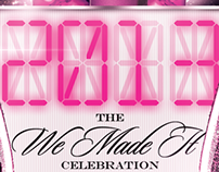 2013 We Made It Celebration | event flyer