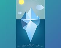 ⛈ Weather App UI