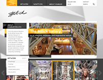 Billich gallery website redesign