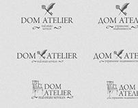 """logo """"Dom Atelier"""""""