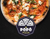 Popó Pizza | Redes Sociais e Impresso
