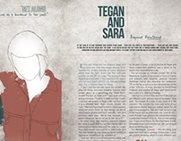Tegan and Sara Layout