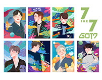 7 for 7 GOT7 fanart