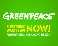 Greenpeace Promotional Packaging Design