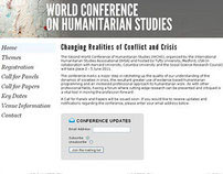 World Conference on Humanitarian Studies