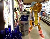 Vons Liquor Aisle