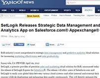 Yahoo! News SetLogik - Press Release