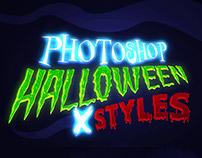 Halloween – 10 Photoshop Styles