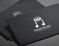 Logo Design: Frog Music