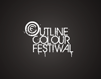 Outline Colour Festiwal. Logo.