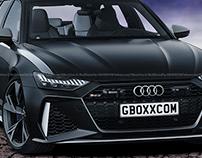 2020 Audi RS6 Avant Black Panther Edition