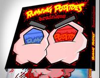 RUNNING POTATOES :: 3D Glasses Artwork / CD Packaging