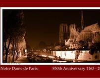 850th Anniversary of Notre Dame de Paris