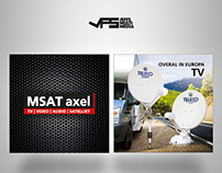 Outside banner design | MSat.nl