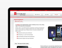 Rothbury Software Site Design