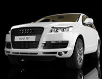 3D Modeling - Audi Q7