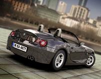 3D Modeling - BMW Z4