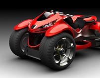 3D Modeling - Peugeot Quark