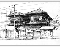 Landscape sketching