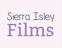 Test Logos - Sierra Isley Films