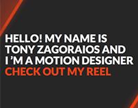 Tony Zagoraios Reel 12