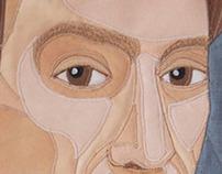 Christina Carrozza on Behance : portrait quilts - Adamdwight.com