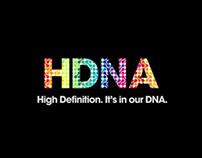 SONY USA HDNA campaign