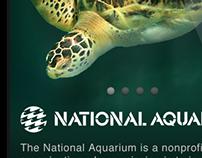 National Aquarium Mobile Web