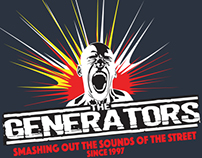 Posters, Tour Shirts, Designs for The Generators