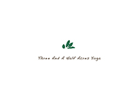 logo design for TAAHA yoga