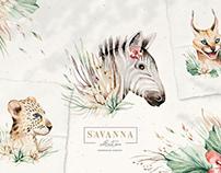Stay Wild. Savanna collection