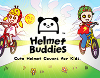 Helmet Buddies - Product Design and Branding