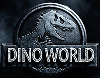 Dino World Poster