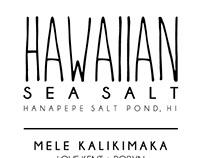 Label - Sea Salt
