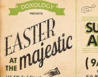Flyers for Easter Sunday