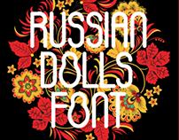 Russian Dolls Font Free
