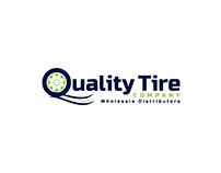 Quality Tire Company Logo Design