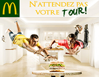 McDonald's // Don't wait your turn