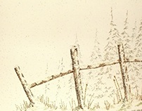 Fence in Winter