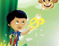 Children's book - 'alekhanaparuchayam'
