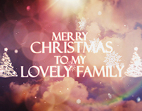 Merry Christmas ( After Effects Template )