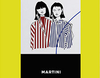 Illustration x Martini at F1 Mexico City