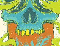 Rage Love Skull